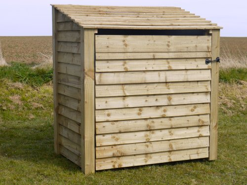 UK Hand Made Also Available With Doors Greetham 6ft Outdoor Wooden Log Store